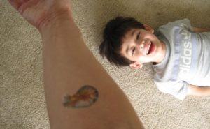 Tattoo smiles